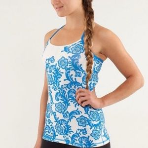 Lululemon Athletica Floral Power Y Tank